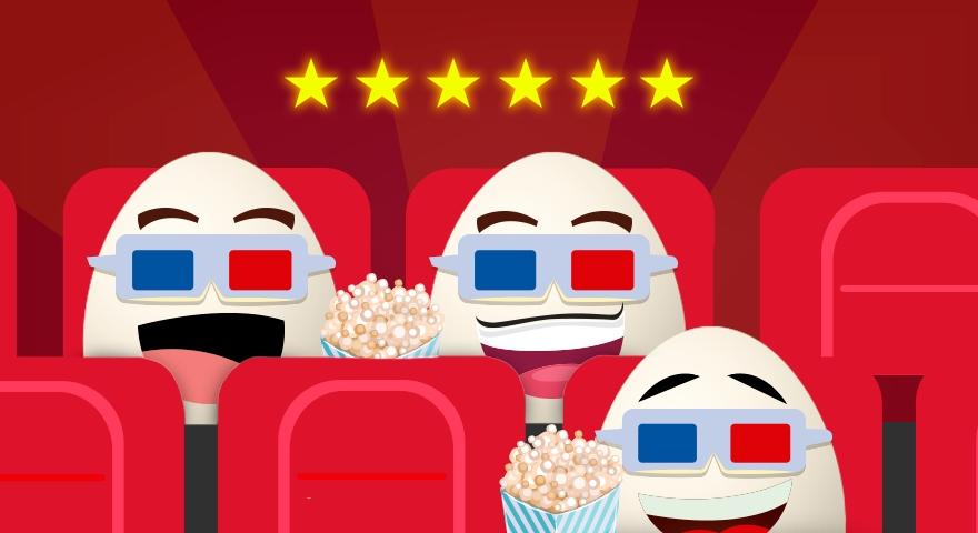 Os ovos no cinema