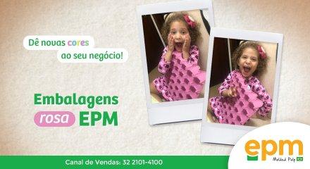 Bandeja Rosa EPM - Adquira já a sua!