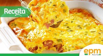 Receita: Omelete de forno